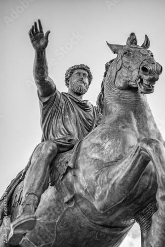 Statue equestre di Marco Aurelio, Campidoglio, Roma