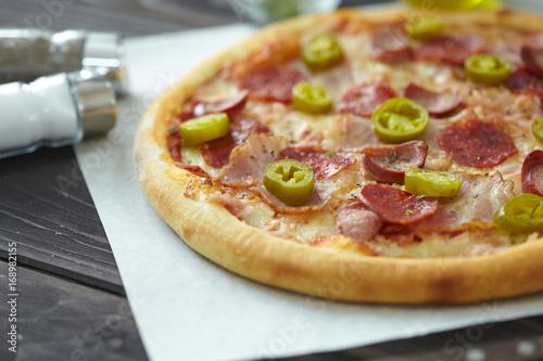 Aluminium Pizzeria tasty pizza