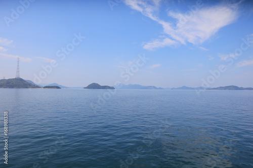 ship at the Seto Inland Sea