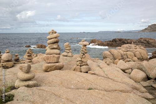 Rock Stack, English Cemetery, Trece Head Beach; Costa de la Muerte