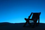 Lounge on beach in Halloween - 168995956