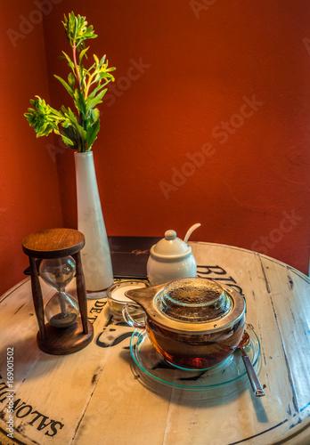 Relaxen und mal in Ruhe einen Tee genießen !