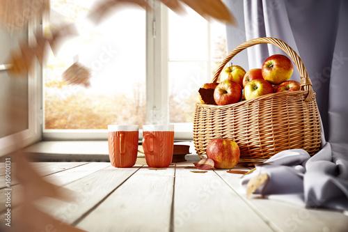 autumn table