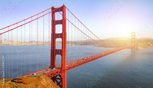 Fotobehang San Francisco San Francisco, Golden Gate Bridge