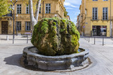 fountain Mousse at cours Mirabeau in Aix en provence