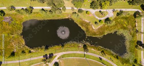 Fotobehang Honing Urban Aerial Photography