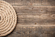Nautical background with rope