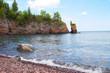 Scenic view of the Lake Superior shoreline