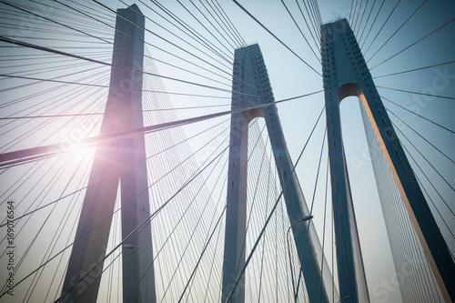 most wantowy most zbliżenie