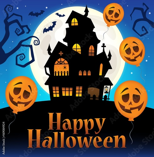 Aluminium Voor kinderen Happy Halloween sign thematic image 7