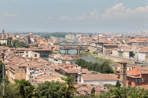 Fotobehang Florence Wide view over Florance