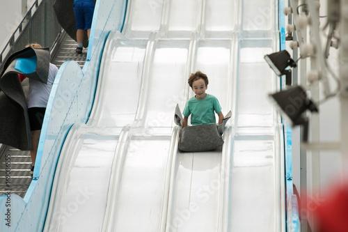 Fotobehang Amusementspark fun in luna park