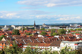 view above the roofs of Karlsruhe - Germany - 169089152