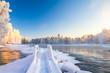 pajakka river from Kuhmo, Finland.
