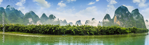 Fotobehang Guilin Guilin Lijiang beautiful natural scenery
