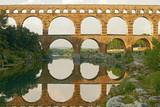 Roman aqueduct Pont Du Gard France