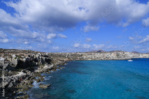 Cala Rossa isola di Favignana Sicilia