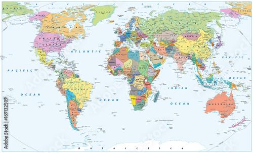 polityczna-mapa-swiata-granice-kraje-i-miasta