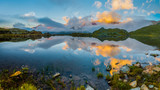 Lago nero passo Gavia