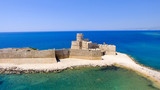 Aerial view of Fortezza Aragonese, Calabria, Italy - 169173167