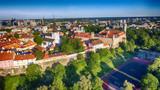 Aerial view of Tallinn, Estonia - 169173507