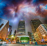 Buildings of Downtown San Francisco at night - 169175196