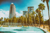 View of Downtown buildings on a beautiful sunny day, San Diego - 169175310