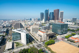 Los Angeles, California. Aerial view of Downtown buildings