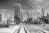 SAN DIEGO, CA - JULY 30, 2017: View of Downtown buildings on a beautiful sunny day. San Diego hosts more than 34.9 million visitors each year - 169177192