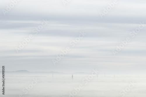 Misty Landscape - 169181301