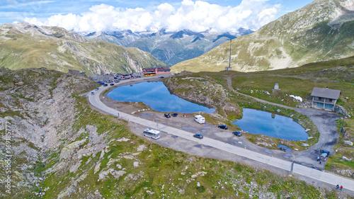 Foto op Plexiglas Bergen Nufenen inkl. Seen