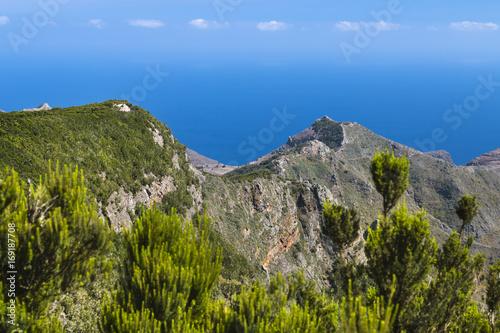 Foto op Plexiglas Canarische Eilanden Anaga Mountains, Tenerife, Spain