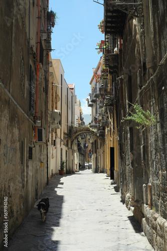 Papiers peints Palerme Straße in Palermo