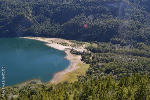Foto op Plexiglas Groen blauw Parque Nacional Los Alerces, Esquel, Argentina