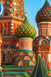The Cathedral of Vasily the Blessed or Saint Basil's Cathedral, Red Square.