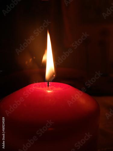 Papiers peints Feu, Flamme Kerzenlicht
