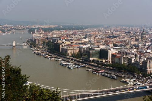 Foto op Plexiglas Boedapest Panorama di Budapest