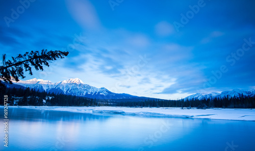 Aluminium Blauwe jeans Jasper Landscape