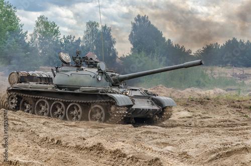 TANK WARSAW PACT - Stare pojazdy wojskowe