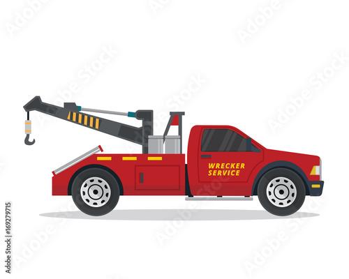 modern tow truck illustration logo buy photos ap images detailview