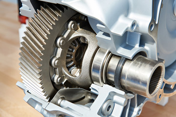 Gear of main drive in automatic transmission