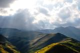 mountain landscape, summer in the Caucasus