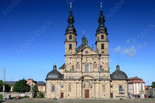 Baroque Basilica St. Salvator