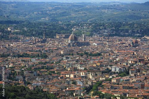 Fotobehang Florence Panorama sur Florence, Italie