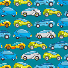 Futuristic car background of transportation vehicle and automobile theme Vector illustration