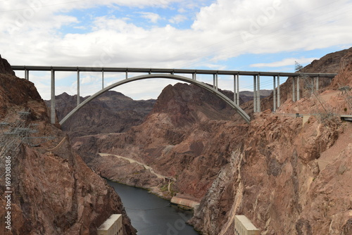 Fotobehang Bruggen Hoover Dam, USA