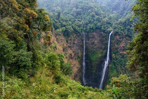 Laos Bolaven plateau Tad Fane waterfall - 169330597
