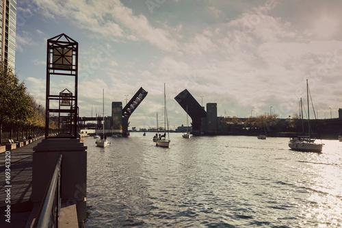 Lake Shore Drive Bridge is up Poster