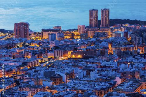 Foto Murales Panorama of Santa Cruz de Tenerife