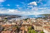 Panoramic view of Geneva